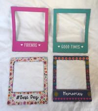 Pack of Four Magnetic Photograph / Picture Frames - BNWT