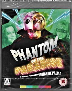 Brian DePalma's: Phantom of the Paradise Blu-ray Region B Inc Registered Post