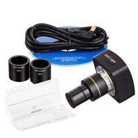 AmScope MU035 Still Photo and Video Microscope Camera USB2.0