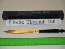 Knife Through Bill Magic Trick - Easy To Do Close-Up Street Use A Borrowed Bill!