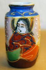 Japanische Satsuma Vase handbemalt japanese chinese signed signiert China