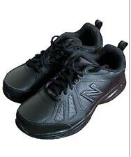New Balance Para hombre 624v5 Entrenamiento Gimnasio Fitness Zapatos-Negro Deportes anchura EE Reino Unido 6.5