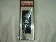 Winchester Folding Knife with Sheath #22-49413W SEALED