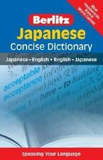 Japanese Concise Dictionary (Berlitz Concise Dictionary) (Japanese Edition)