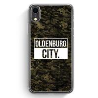 Oldenburg City Camouflage iPhone XR Hülle Cover Deutschland Militär Hard Case...