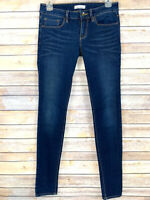 PacSun Bullhead Womens Jeans Skinny Dark Blue Wash Skinniest Stretch Size 5 x 31