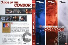 3 Three Days Of The Condor (1975 - Robert Redford, Faye Dunaway  DVD NEW