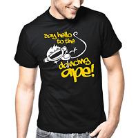 Say hello to the dancing ape Sprüche Geschenk Lustig Spaß Comedy Fun T-Shirt