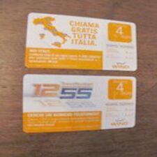 2 Scheda ricarica ricariche WIND 30 06 2010 da 4 euro