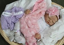 SHH! SLEEPING BABY! - Feel her Breath! 22 Inch Collectors Life Like Girl Doll