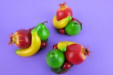 Tiki Hair Clip 50s PinUp Rockabilly Fascinator Banana Pear Fruit Tropical Berry