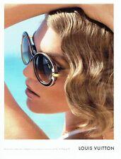 PUBLICITE ADVERTISING 027  2012   les lunettes solaires Louis Vuitton