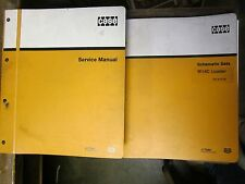 2 BOOKS OEM CASE W14C Loader SERVICE SHOP REPAIR and Schematic Manual Book GUC