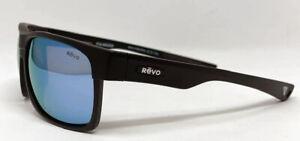 Brand New REVO's PANTHERA Espen Sunglasses-Matte Black Frame W/ Blue Water Lens