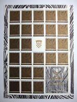 Kroatien 25er Bogen MiNr. 182 C postfrisch MNH (BW2556