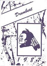 JACK HAYES JUNIOR HIGH SCHOOL, MONROE, LOUISIANA YEARBOOK - DRUMBEAT - 1987