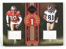 2005 Leaf Limited Round By Round Jerry Rice & Torry Holt jersey #D14/75 *39884