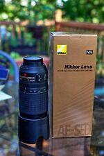 Nikon Zoom-NIKKOR 70-300mm f/4.5-5.6 G IF- ED AF-S VR Lens, original box, doc's.