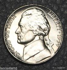 1959-P BU Jefferson Nickel Free Shipping