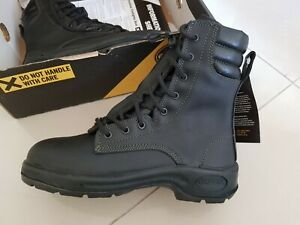 Oliver Structural Firefighter Black Boot Size 7 US 8
