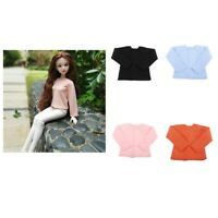 Trendy Girl Doll Loose Long Sleeve T-shirt for 1/4 BJD XinYi Doll Clothes