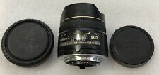 Nikon Nikkor AF 10.5mm f2.8 G ED DX Fisheye Lens Made in Japan