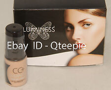 LUMINESS AIR - FLAWLESS & GORGEOUS - IVORY CC+ Airbrush CONCEALER - .25 oz *NEW