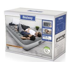 Queen Size Air Bed Mattress Inflatable With Built In Ac Pump Sleeping Camping
