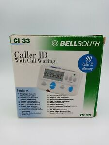 BELL SOUTH CALLER ID WITH CALL WAITING CI 33 with 90 caller ID memory