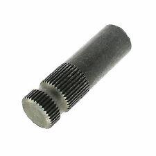 """2"""" Long 5/8 Inch x 36 Spline Steel Stub Shaft"""