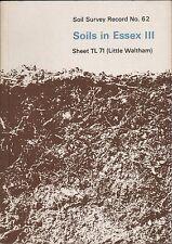 Soils in Essex III Sheet TL 71 (Little Waltham) A3.558