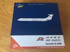 KORYO Korea IL-62M Diecast Metal Solid Model Koryo Air 1:400 Gemini GJKOR1730