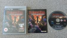 Playstation 3 Game resident evil operation raccoon city