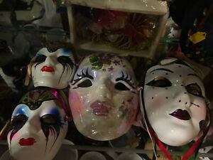 Decorative Porcelain Masks