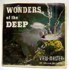 View-Master B612, Wonders of the Deep, Set of 3 Reels