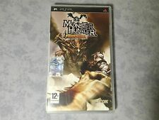 MONSTER HUNTER FREEDOM SONY PSP PAL ITALIANO PRIMA STAMPA COME NUOVO ULES 00316