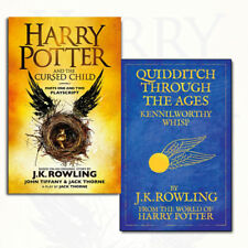 Harry Potter Collection Quidditch Through the Ages, The Cursed Child 2 Book Set