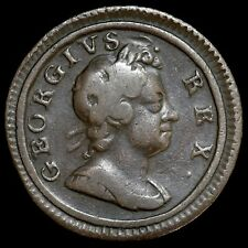 More details for george i, 1714-27. farthing, 1717. 'dump' issue. scarce.