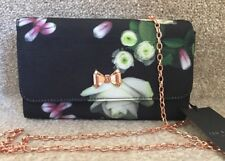 Ted Baker Kensington Floral Bow Evening Bag Cross Body  Brand New With Tags