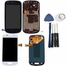 OEM LCD Display Screen Digitizer Assembly Frame For Samsung Galaxy S3 Mini i8190