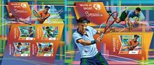 MLD15604ab Maldives 2015 Tennis MNH SET **