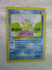 Carte pokémon squirtle 63/102 commune set de base carte anglaise