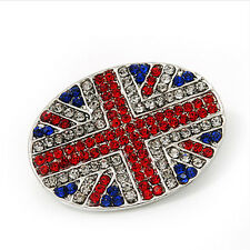 Stile VINTAGE UK Bandiera Union Jack rosso e royal blue SPILLA PIN BR249