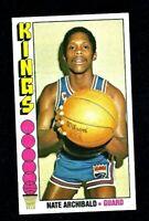 NM 1976 Topps Basketball #20 Nate Archibald HOF.