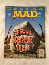 Mad Magazine # 254 April 1985 Special Rock Issue Paul McCartney Boy George