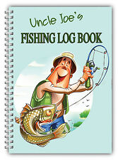 A5 FISHING LOG BOOK/ DAILY FISHING DIARY/ A5 PERSONALISED FISHERMAN'S GIFT/07