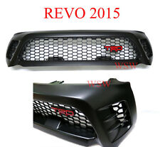 TRD Sport Front Grille Grill Black Fit Toyota Hilux Revo Sr5 M70 M80 15 16 2017