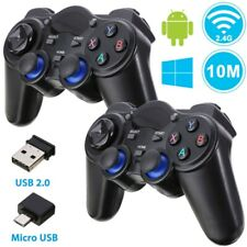 2.4G WIRELESS GAMEPAD CONTROLLER JOYSTICK REMOTE For Android Windows PS3
