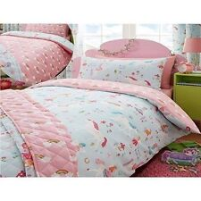 Kidz Club Magical Unicorns Childrens Double Bed Duvet Cover and Pillowcases Set