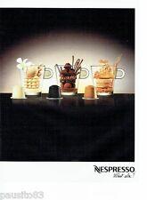 PUBLICITE ADVERTISING  116  2013  Nespresso  le café  gourmand